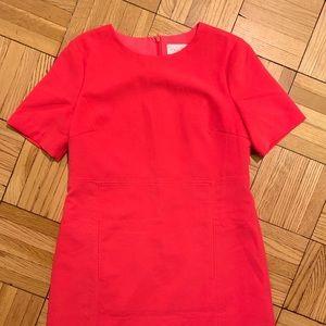 Hot pink Eliza J sheath dress with pockets!